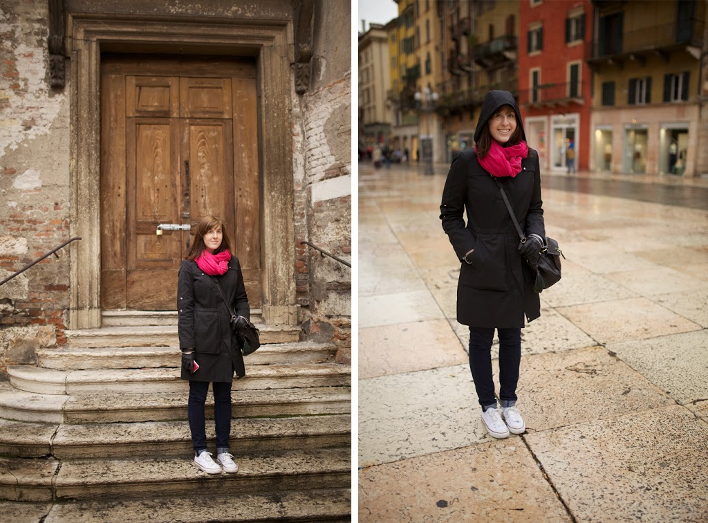 travel outfit for Italy in Winter