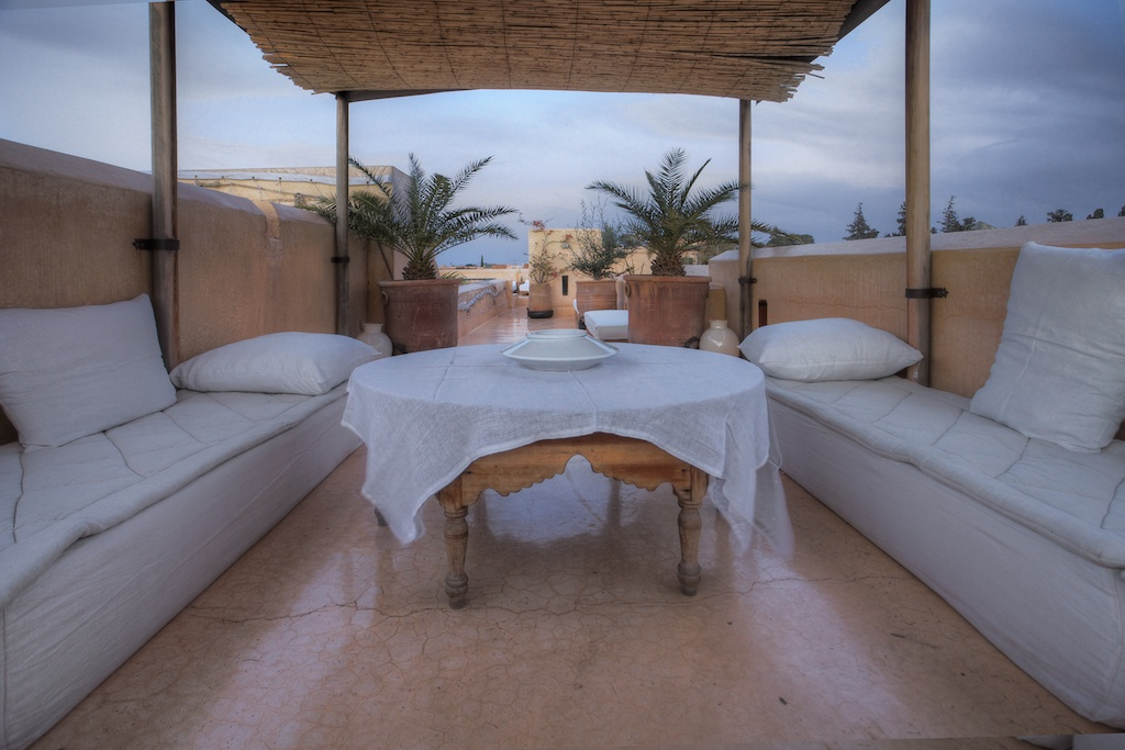 Riad 72 Marrakech rooftop