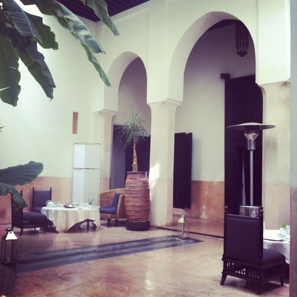 Riad 72 Marrakech interior
