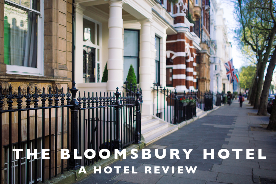 bloomsbury hotel hotel review