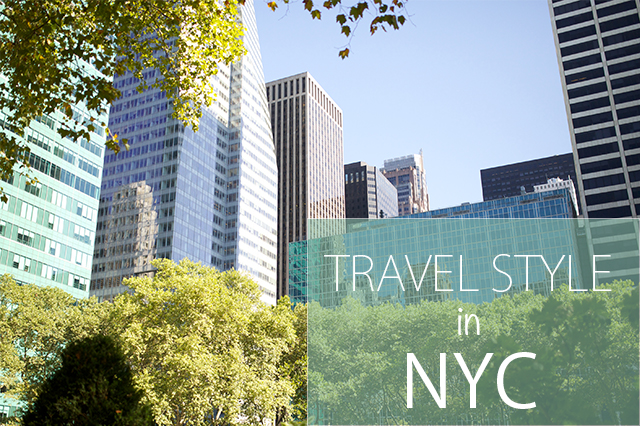 travel style in New York City