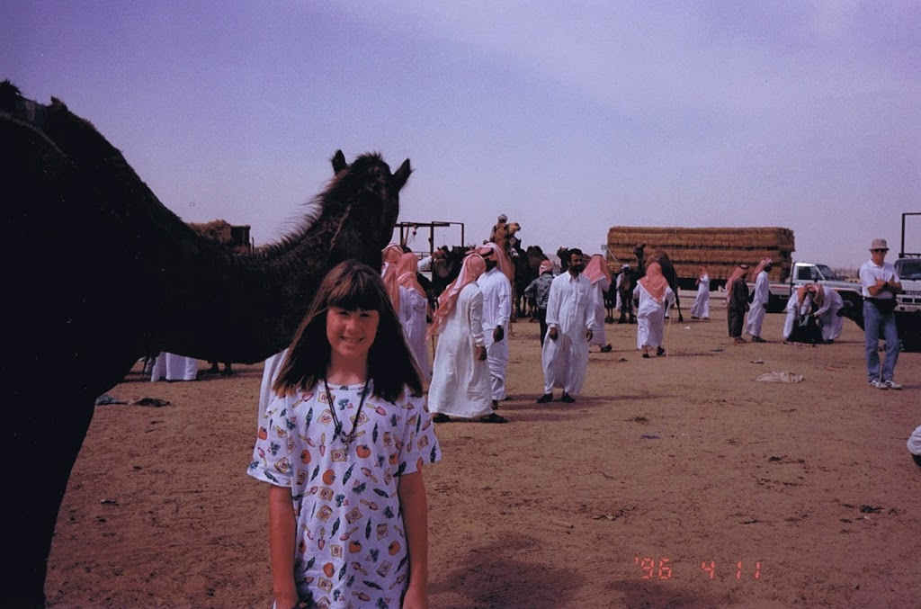 expat kid in Saudi Arabia