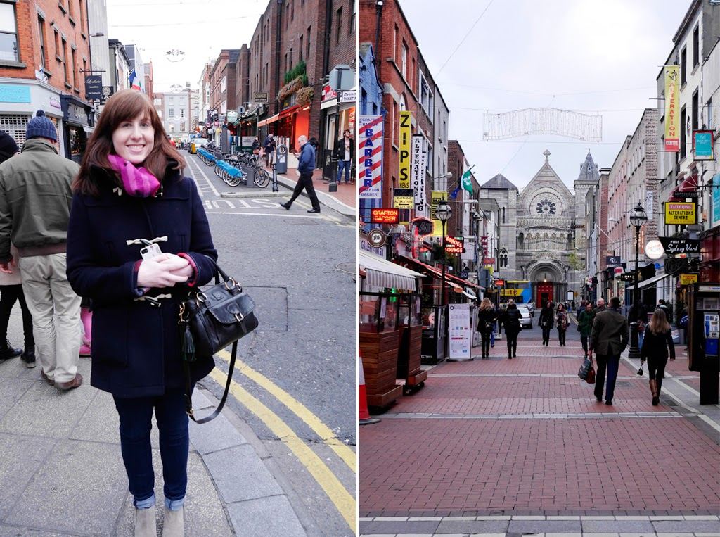 Exploring Grafton Street in Dublin Travel style Ireland