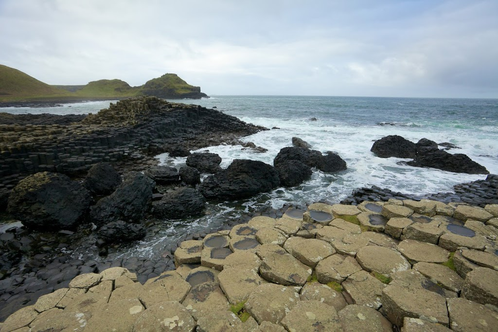 exploring the Giants Causeway Northern Ireland