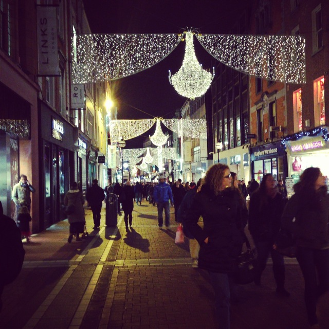 Exploring Grafton Street in Dublin