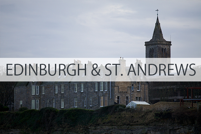 A Day Trip from Edinburgh to St. Andrews
