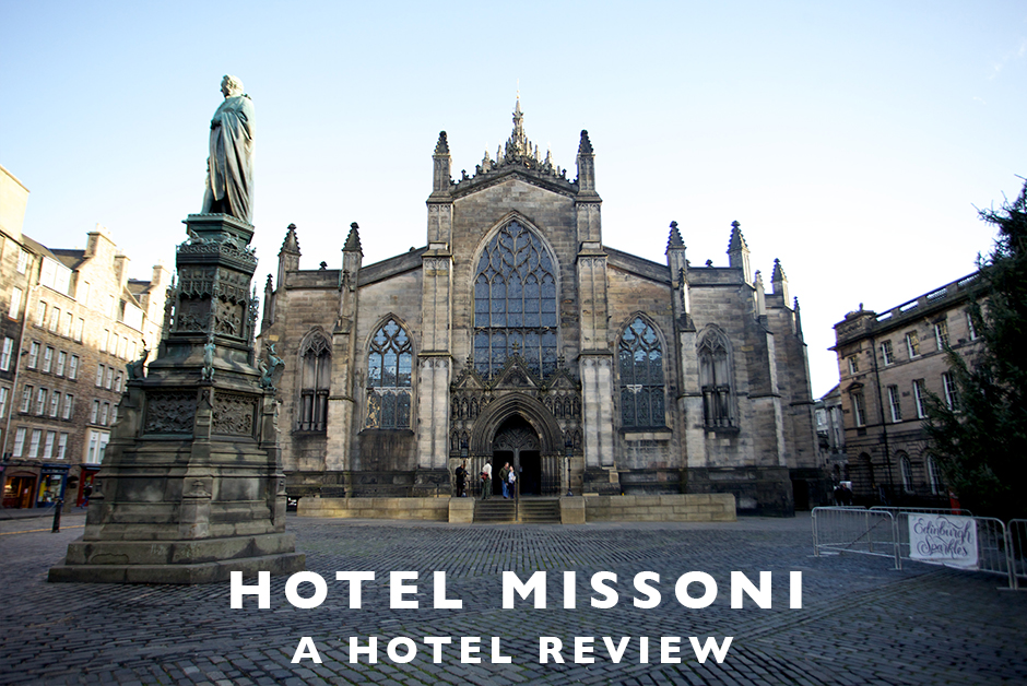 hotel Missoni Edinburgh hotel review