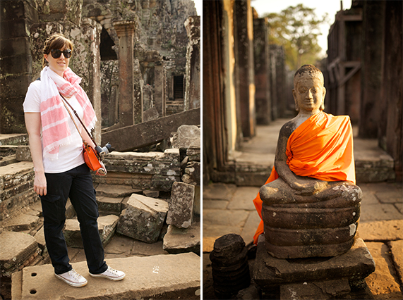 travel outfit for Siem Reap