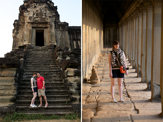 travel outfit for Angkor Wat
