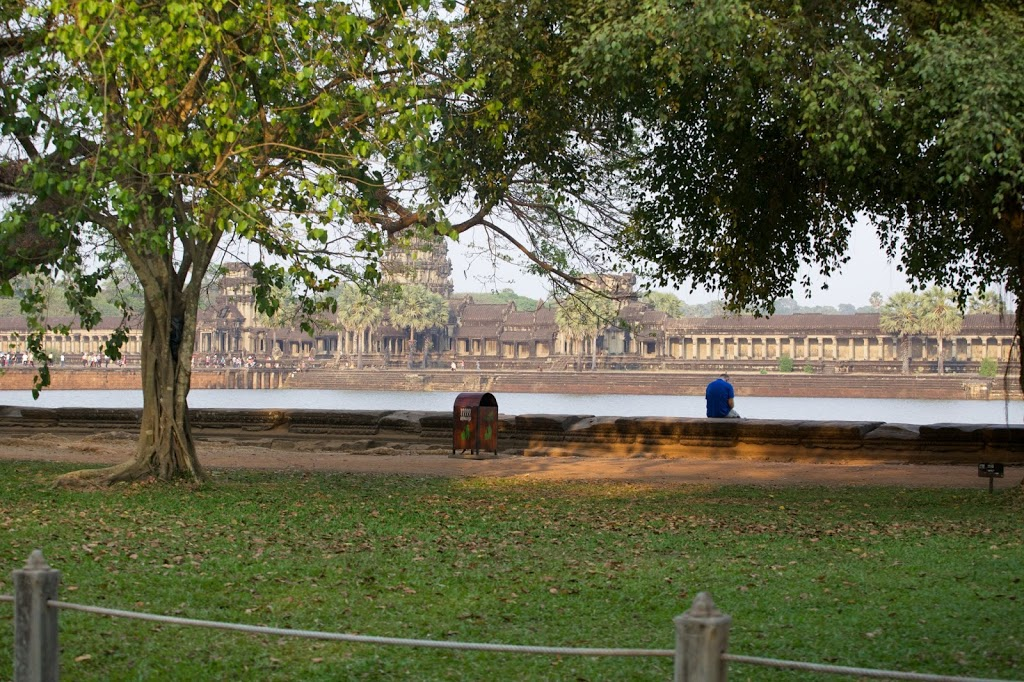 first glimpse of Angkor Wat