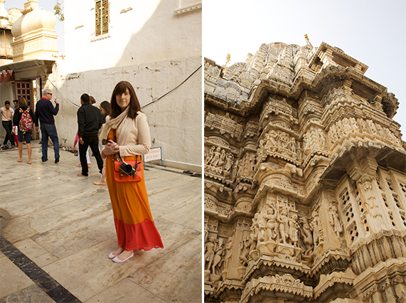 travel outfit in india at temples