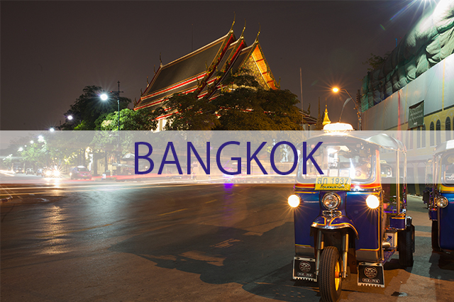 Exploring Bangkok for the First Time