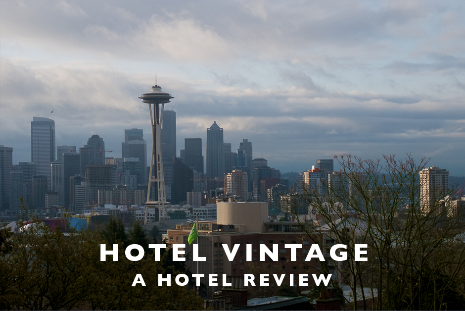 hotel vintage Seattle hotel review