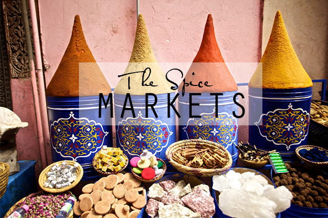 reasons to visit Morocco spice markets