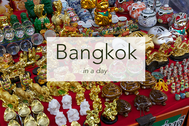 How to See Bangkok in a Day