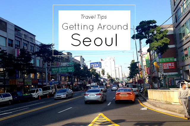 tips for getting around Seoul