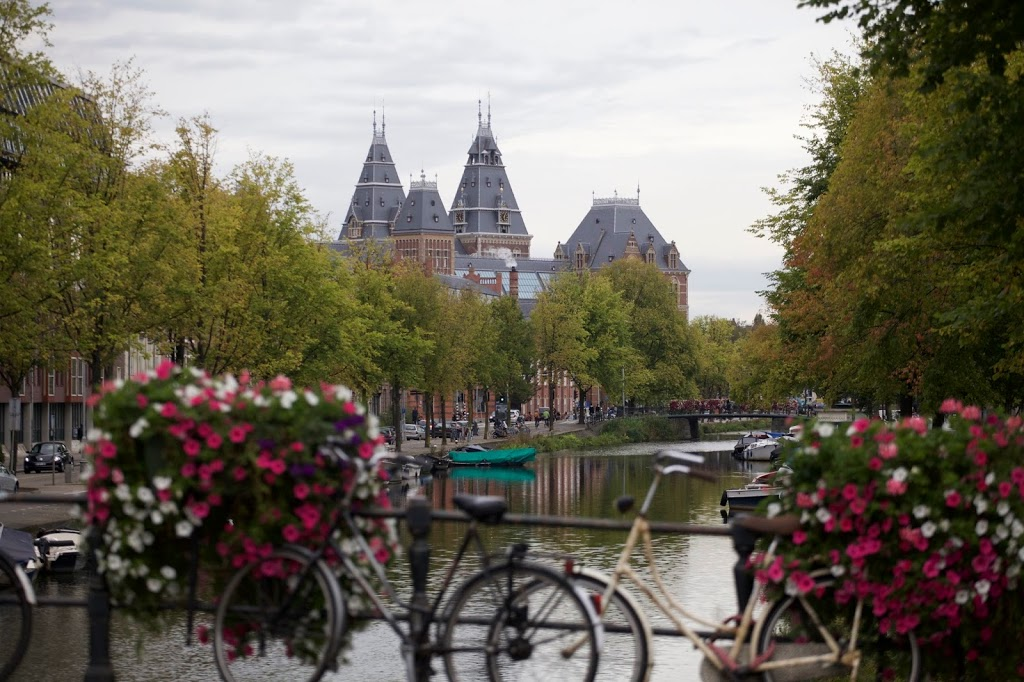 wandering through Amsterdam for the first time