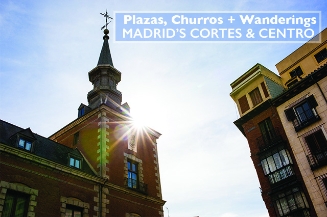 Madrid's Cortes and Centro