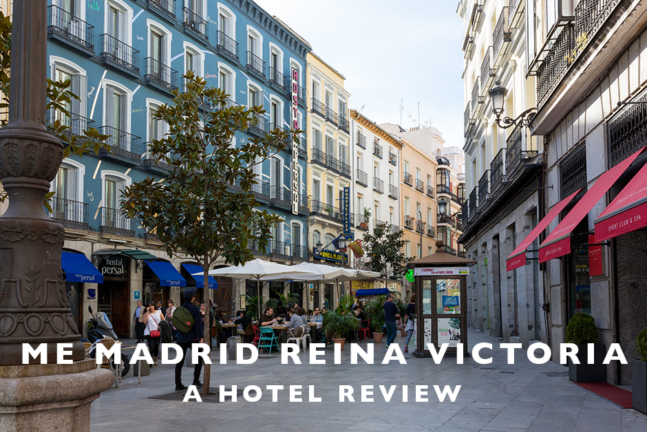 me madrid reina victoria hotel review