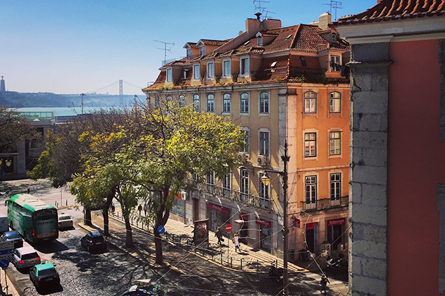 lx boutique hotel review Lisbon Portugal view