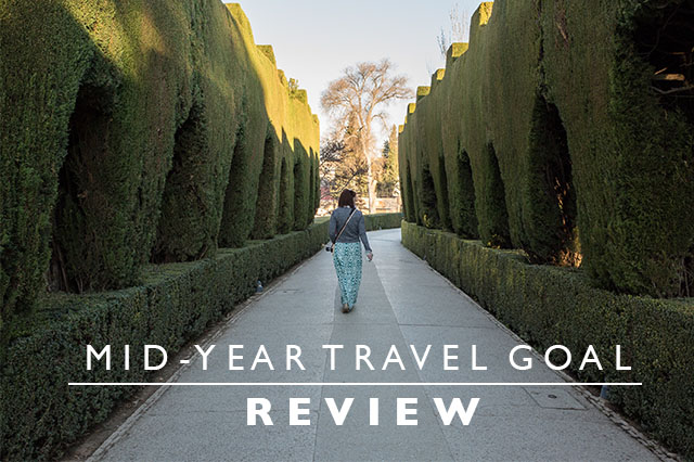 TRAVEL GOAL REVIEW