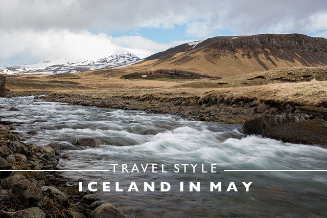 travel style Iceland in May