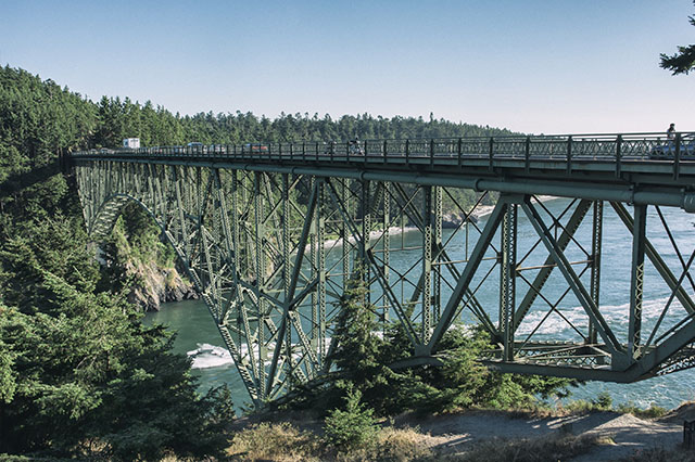 Whidbey Island bridge