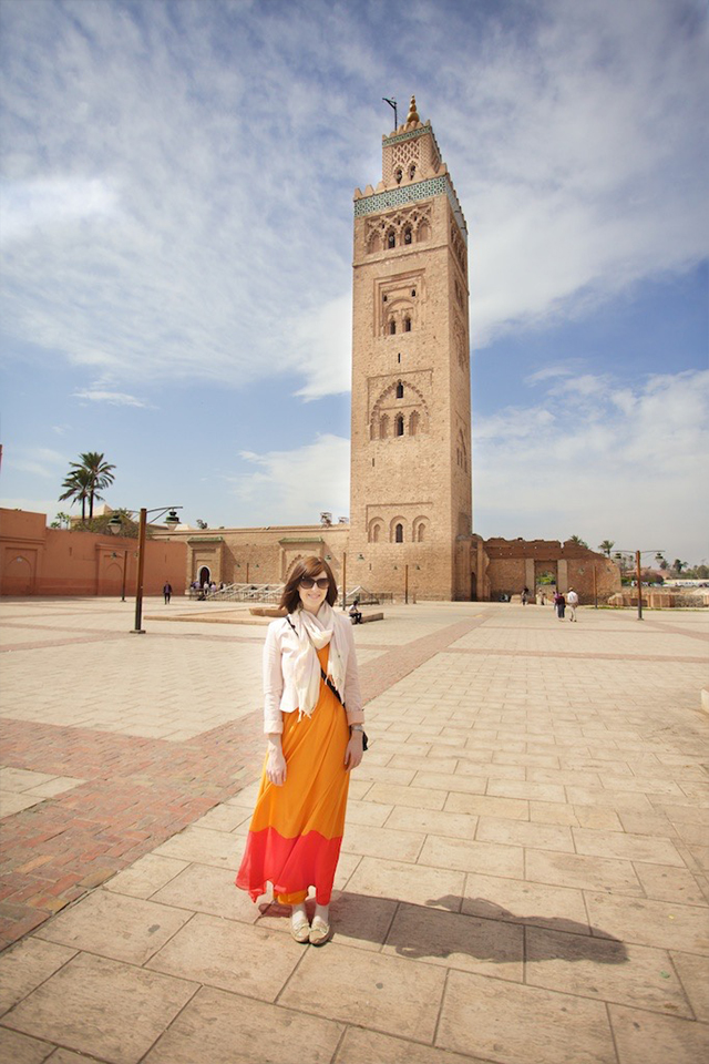 travel outfit for Marrakech