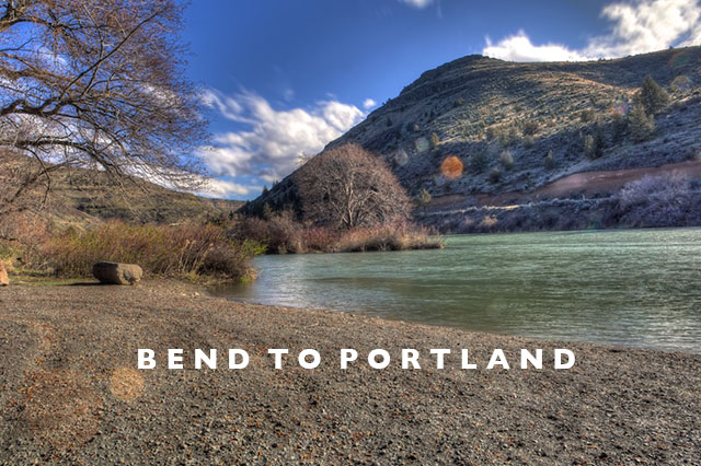 road trip bend to portland