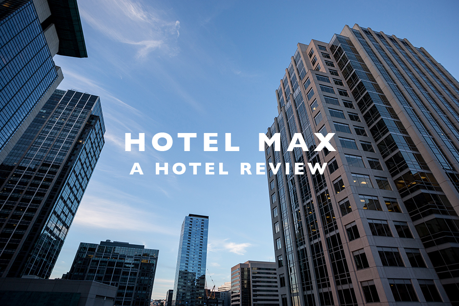 hotel max seattle hotel review