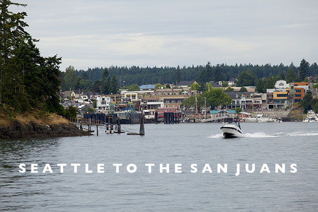 road trip Seattle to the san Juan islands