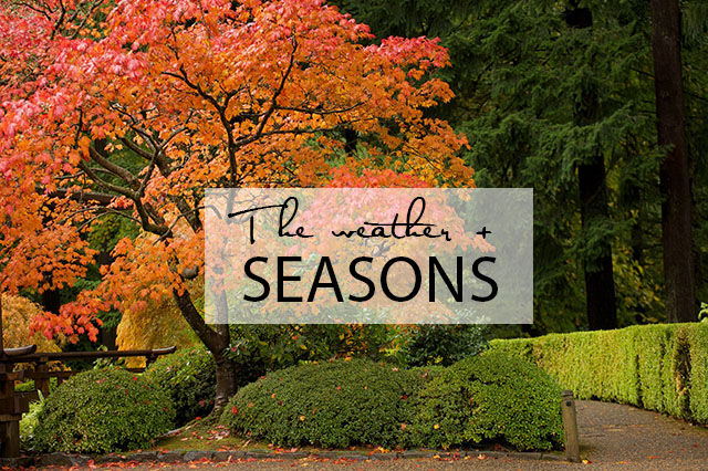 seasons in Portland