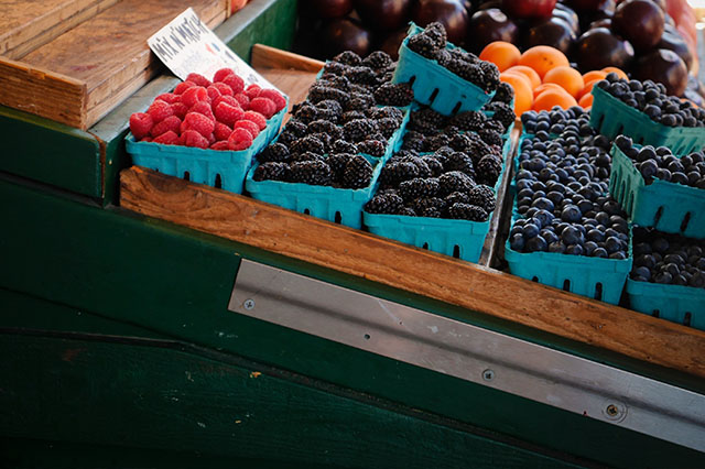 berries at Pike's Place Market