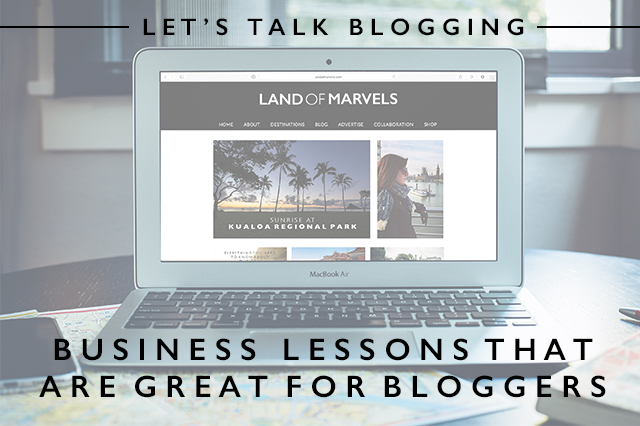 business lessons that are great for bloggers