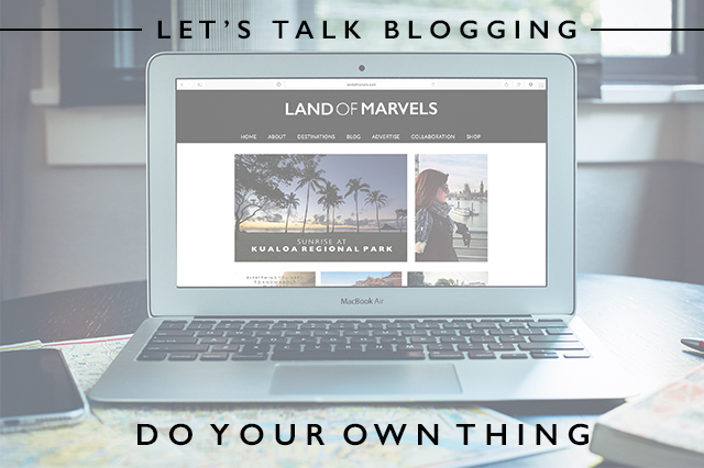 let's talk blogging