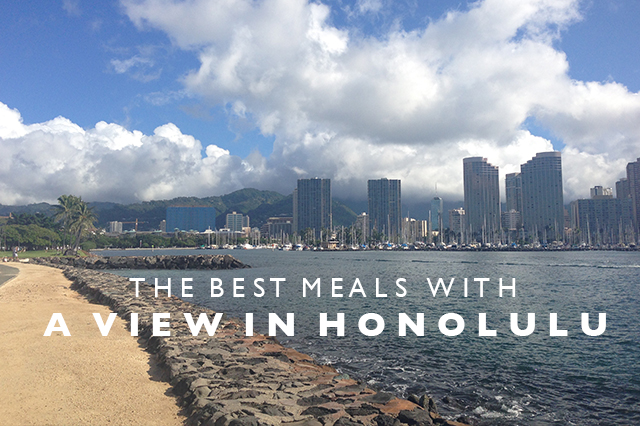 meals with a view in Honolulu