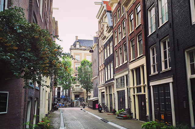 Amsterdam in September tiny alley