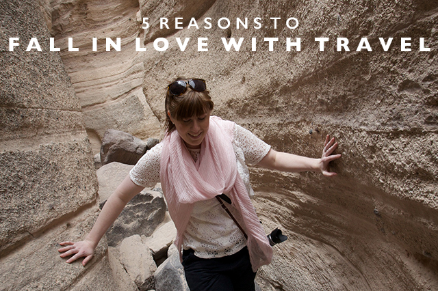 fall in love with travel