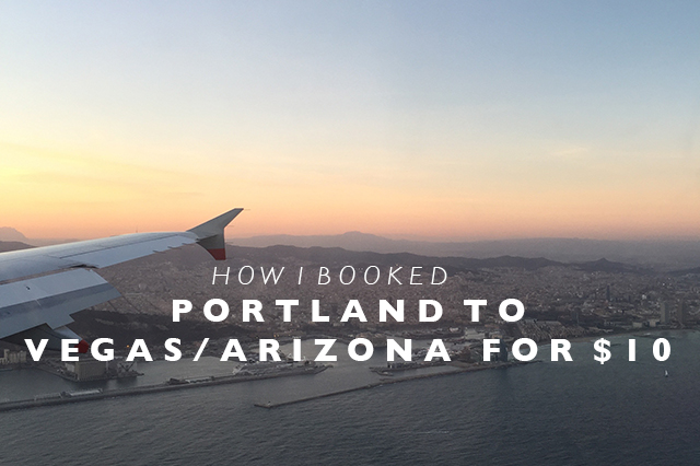portland to vegas