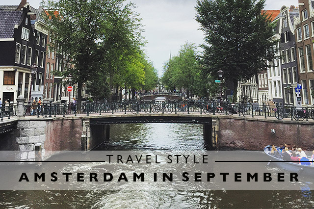 travel style for Amsterdam in September