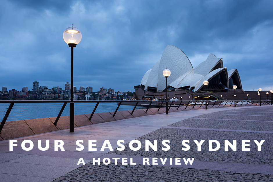 four seasons Sydney hotel review