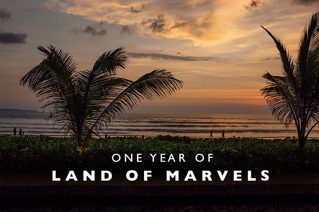 one year of land of marvels