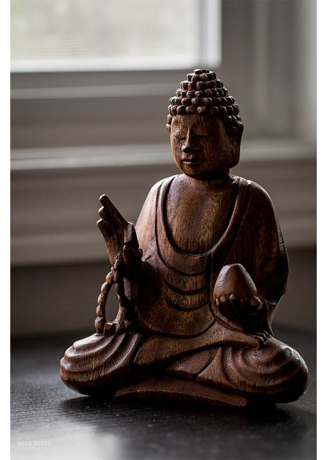 buddha in the home