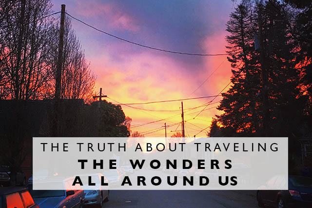 truth wonders around us title