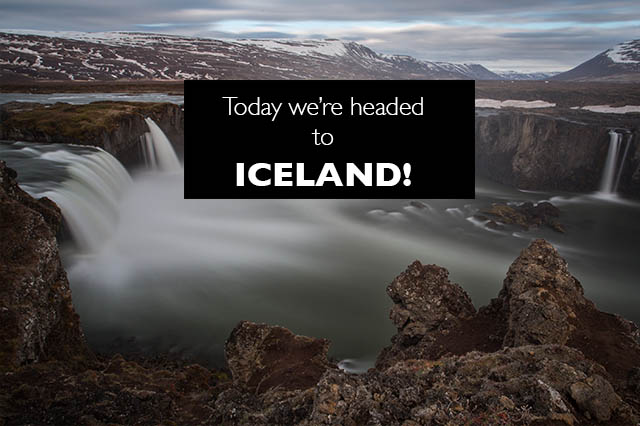 EN route to iceland