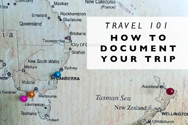 how to document your trip