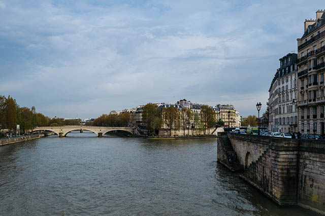 Spring along the Seine in Paris