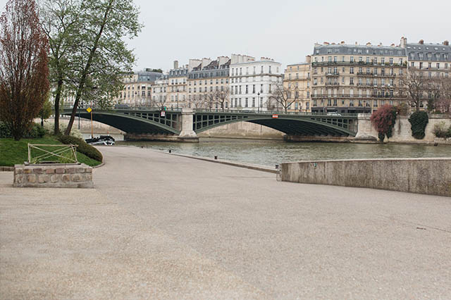 wandering along the Seine