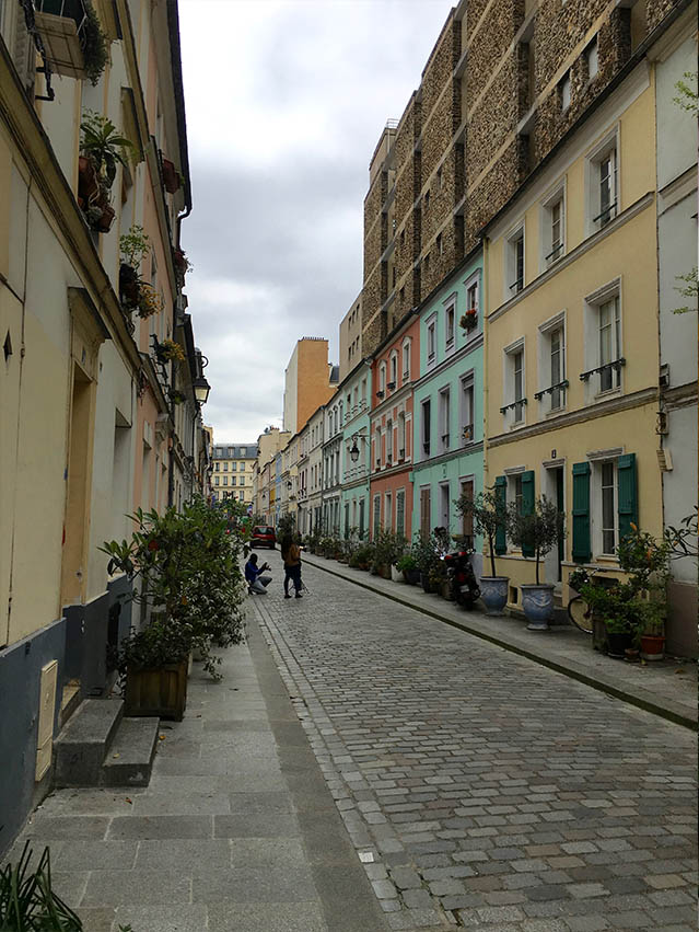 rue cremieux in Paris