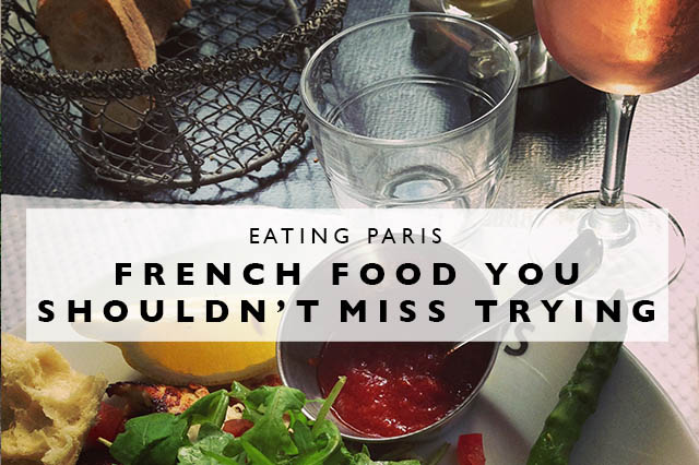 French food you shouldn't miss